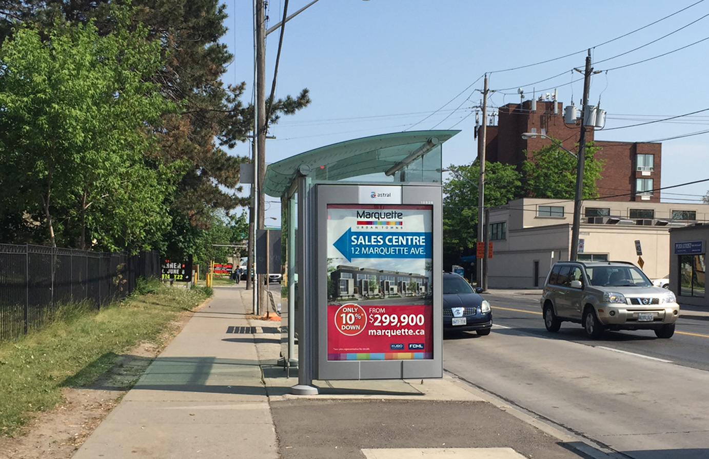 Marquette Transit Shelter