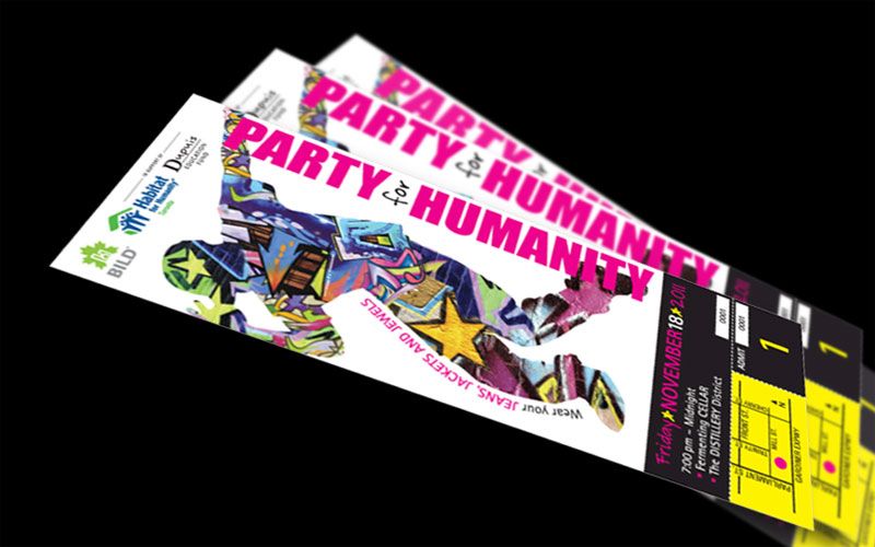 Party for Humanity Ticket